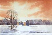 Winter Shelter by Paul Clarke