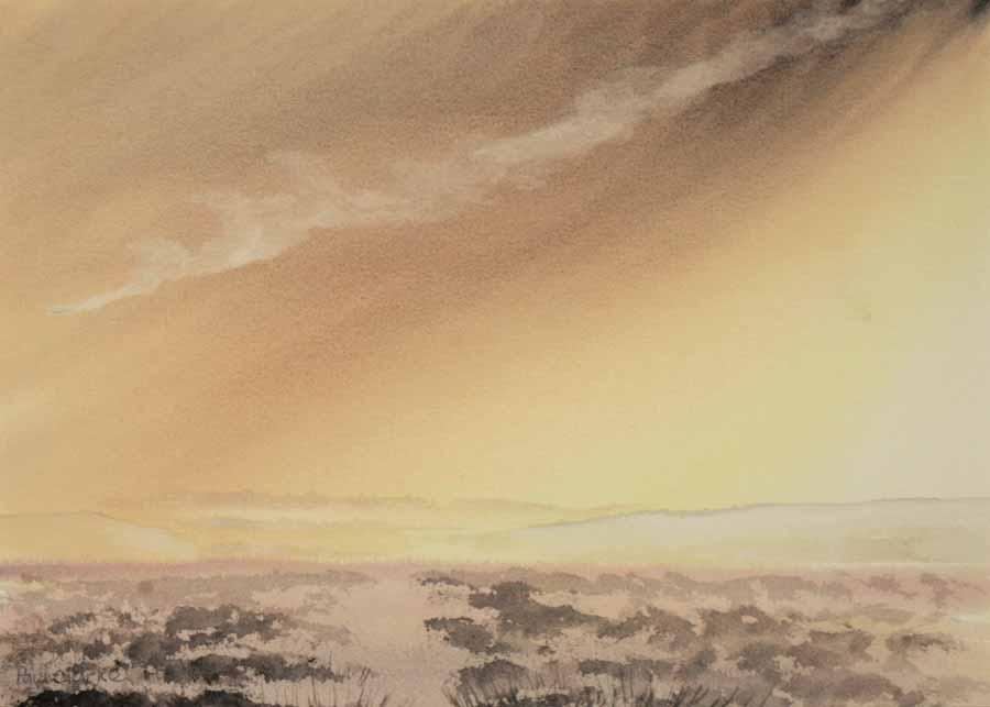 Moorland Hills by Paul Clarke
