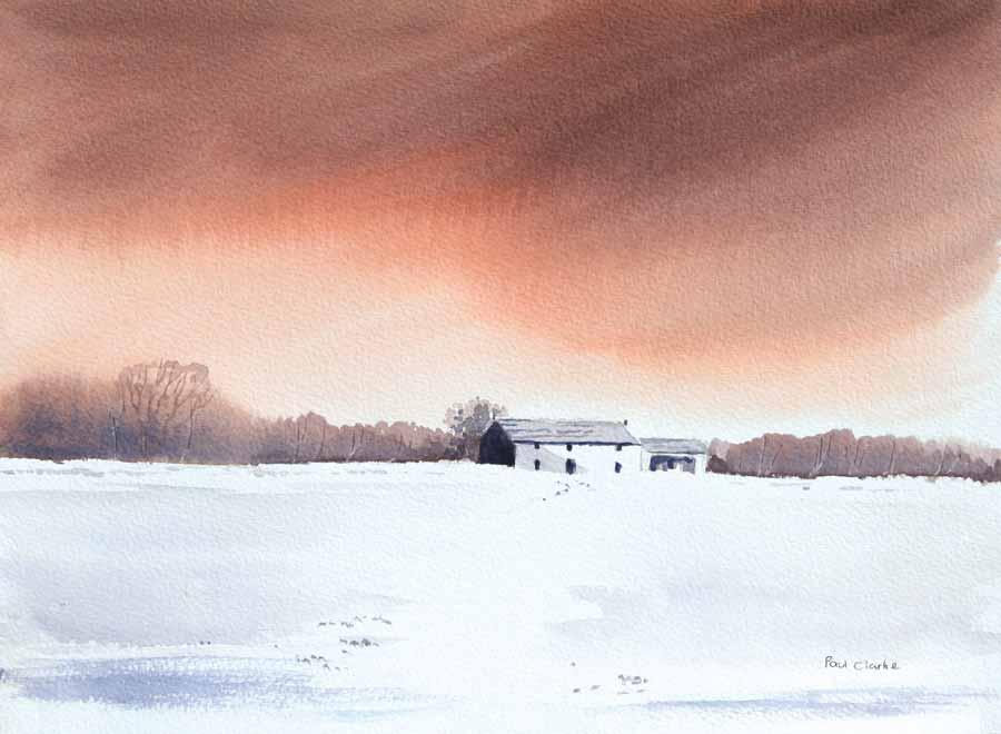 Lonely Dwelling by Paul Clarke