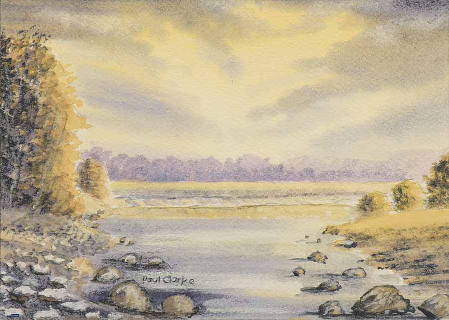 Low Tide by Paul Clarke