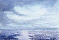 Blue Dusk by Paul Clarke