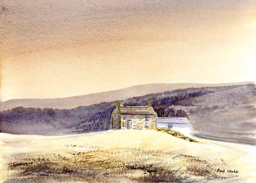 Peaceful Farm by Paul Clarke