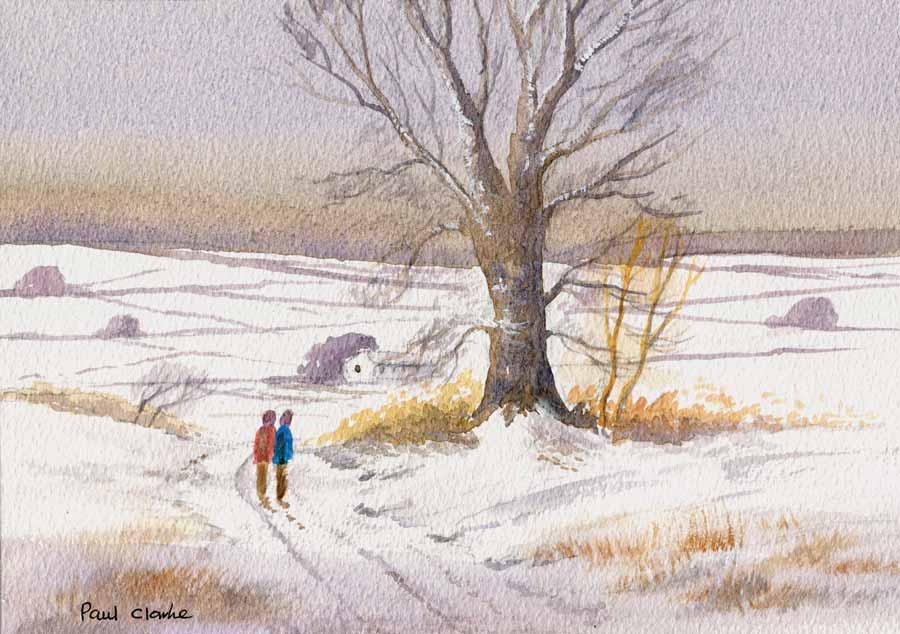 A Bracing Walk by Paul Clarke