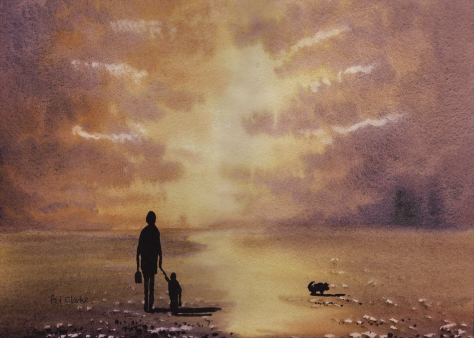 Evening Stroll by Paul Clarke