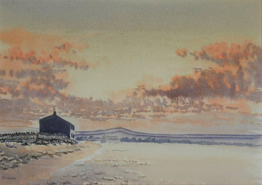 Moors Sunset by Paul Clarke