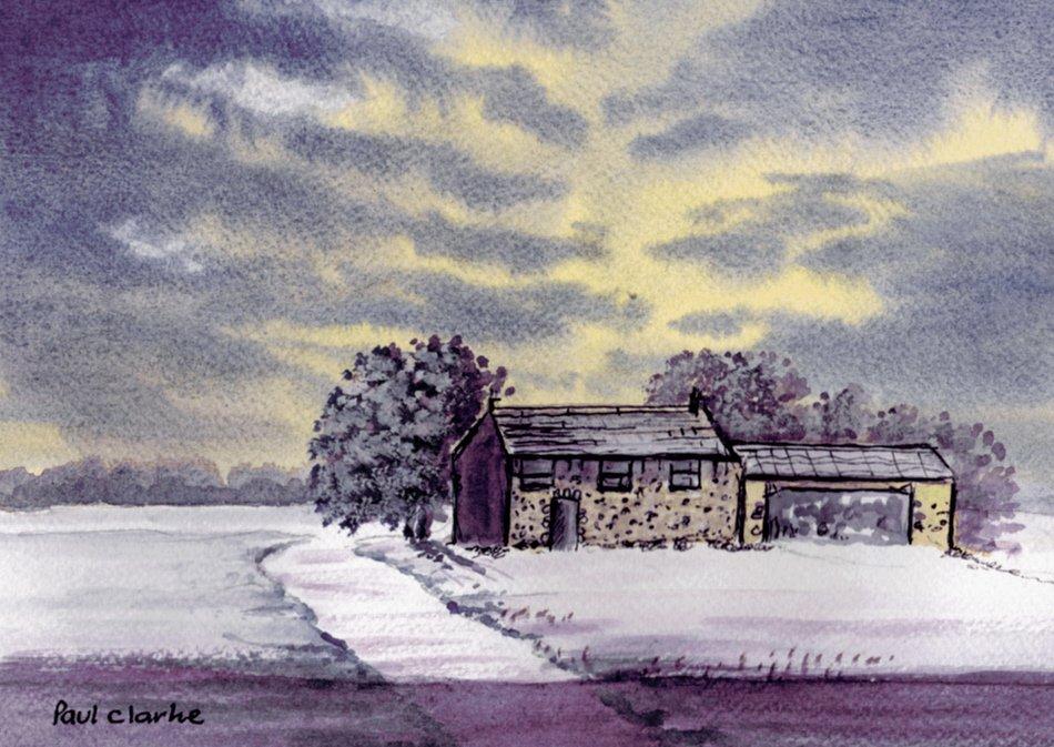 Morning Frost by Paul Clarke